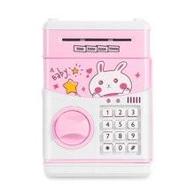 Saving-Box Coin-Bank Money Cash Safe Cat-Paper Electronic