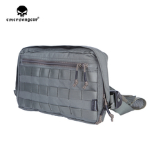 emersongear Emerson Chest Recon Bag Tool Pouch Combat Tactical Vest Pouch EDC Molle Chest Bag Fishing Camping Hunting Gear emersongear molle pouch 500d camo edc battle field medic emt pouch concealed glove tactical army pouch 10 colors em9336