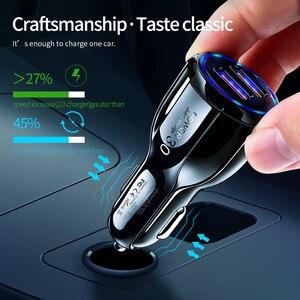 Image 3 - Olaf Xe Hơi USB Quick Charge 3.0 2.0 Sạc 2 Cổng USB Sạc Nhanh Ô Tô Cho iPhone Samsung máy Tính Bảng Trên Ô Tô Sạc