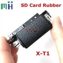 חדש מקורי SD זיכרון כרטיס כיסוי מכסה דלת גומי לפוג י Fujifilm XT1 X T1 החלפת חלק
