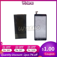 Wyieno 100% Kiểm Nghiệm BQ Di Động BQ5520L Lụa Màn Hình LCD Hiển Thị Màn Hình Cảm Ứng Cảm Biến Bảng Số Màu Bảng Điều Khiển