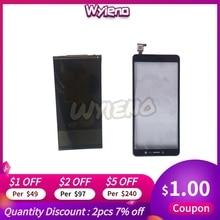Wyieno için % 100% test BQ cep BQ5520L ipek dokunmatik LCD ekran ekran sensör paneli sayısallaştırıcı cam Panel