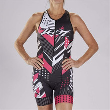 ZOOT 2019 Pro Team Triathlon Suit Women's sleeveless Cycling Jersey Skinsuit Jumpsuit Maillot Cycling Ropa ciclismo set Jumpsuit цена и фото