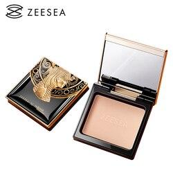 Пудра для лица стойкие Египетские коллекции ZEESEA 3 оттенков для жирной кожи