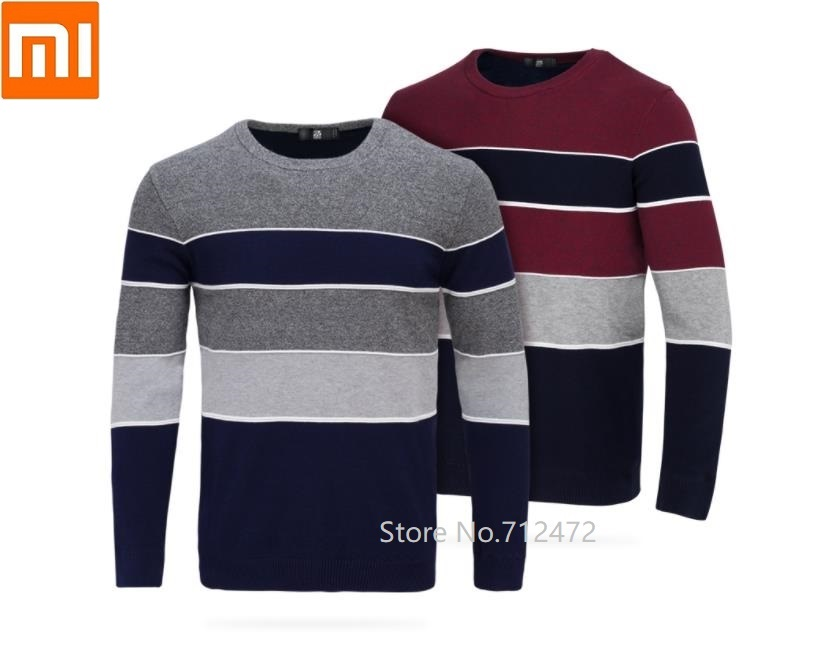 Xiaomi Men Super Soft Velvet Knit Round Neck Sweater Autumn Winter Knitting Long Sleeve Comfortable Casual Knit Pullovers
