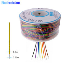 280m 30AWG Wrapping Wire Tin Plated Copper B-30-1000 Cable Breadboard Jumper Insulation Ele