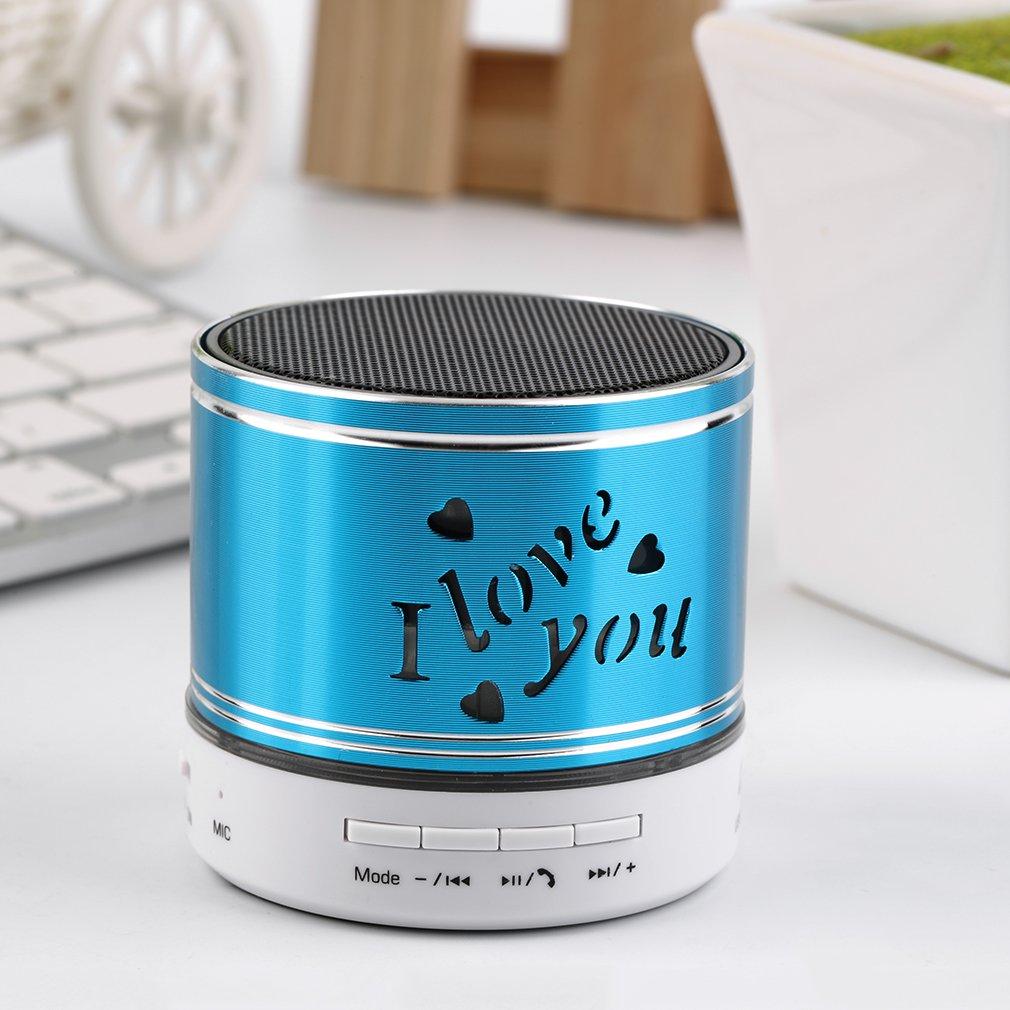 Mini Bluetooth Speaker Portable Wireless Speaker Stereo Music Surround Super Bass column acoustic system For Phone Laptop PC HOT
