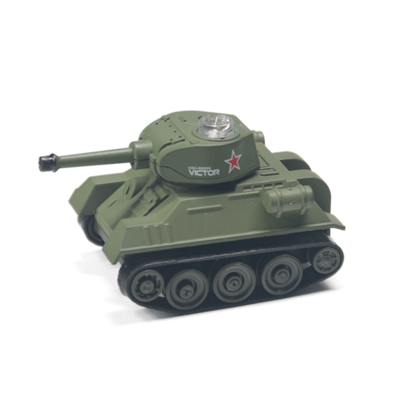 Mini RC Tank Car Radio Remote Control Micro Tank 4 Frequencies Toy For Kids Gifts RC Models