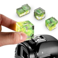 Bubble-Spirit-Level Cameras Camera-Level-Adapter Measuring Insturments-Tool Green Junejour