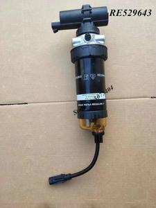 Оригинальный Топливный фильтр в сборе с 12 или 24 В, Электронный насос RE529643, дизельный двигатель, сепаратор топливной воды для JOHN DEERE