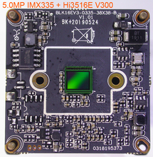 """5.0MP H.265/1/2 1/ 8 """"ソニー STARVIS IMX335 cmos イメージセンサー + Hi3516E V300 CCTV IP カメラの pcb ボードモジュール (オプションパーツ)"""