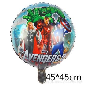 10pcs Super Hero Balloon Latex Balloons Spiderman Kids Spider man Birthday Party Decoration Baby Shower Balloons 7