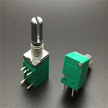 цена на 097 car toy Kung Fu Precision sealing potentiometer with switch B50K-15MM small precision potentiometer