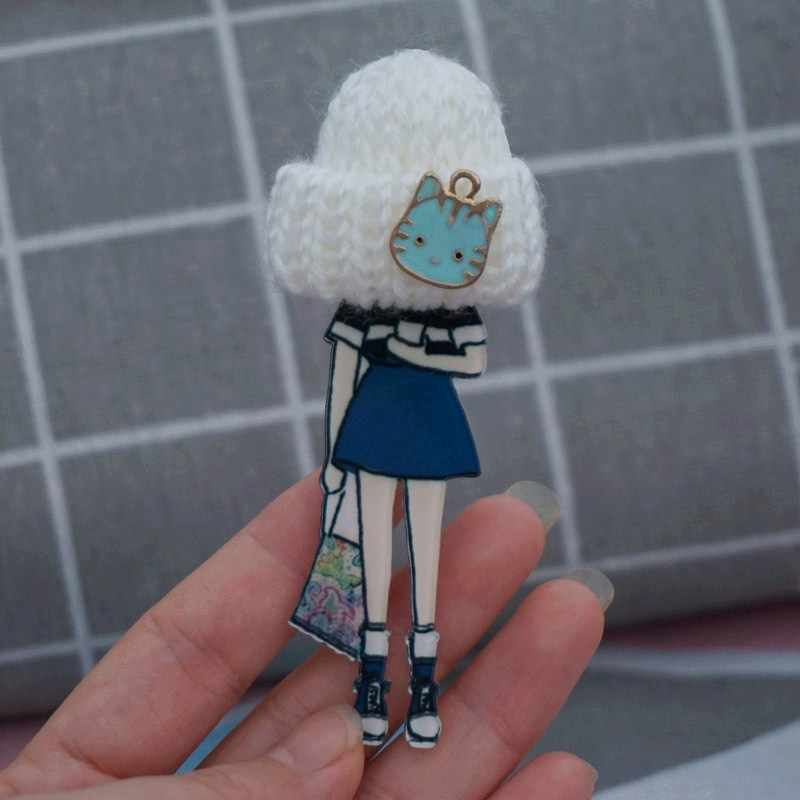 Woman man fashion brooch cute brooches pin Party Cartoon pins for girl Drop-Shipping