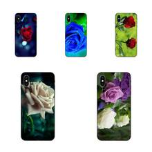 Rose Tanaman Gaya Soft Phone Coque untuk Galaxy A3 A5 A6 A6s A7 A8 A9 A10 A20E A30 A40 A50 a60 A70 A80 A90 Plus 2018(China)