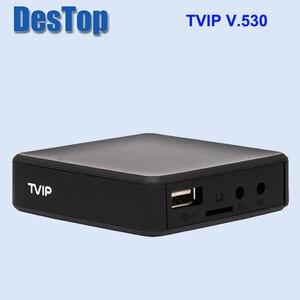 Image 5 - 5pcs המקורי TVIP 530 S905W 1G 8G לינוקס טלוויזיה תיבת I P T V הזרמת תיבת I P T V טלוויזיה תיבת תמיכה protal TVIP v530