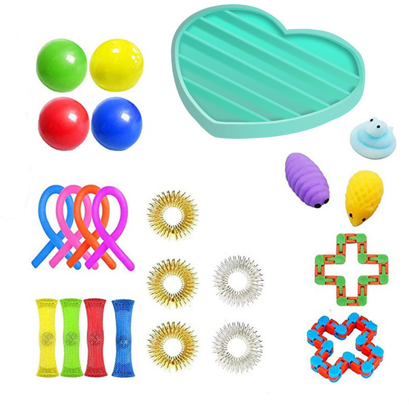 Fidget-Toys Strings Anti-Stress-Toy-Set Mesh Marble Relief-Gift Sensory-Stress Adults img2
