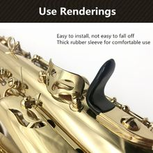 цена 5pcs Rubber Saxophone Thumb Rest Saver Cushion Pad Finger Protector Alto Tenor Soprano Saxophone Finger Pad онлайн в 2017 году