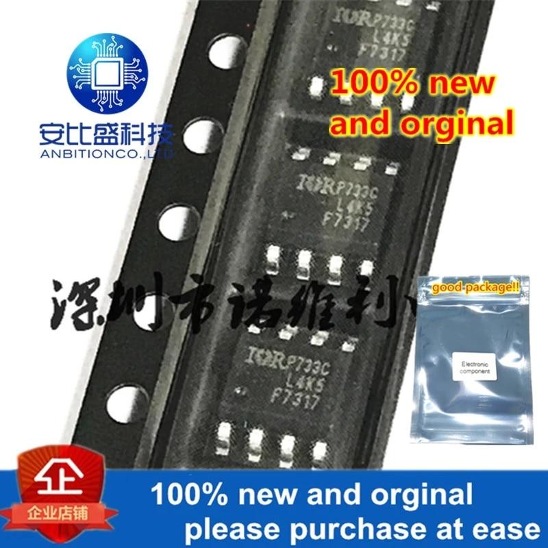10pcs 100% New And Orgina IRF7317TRPBF SOP-8 NP 20V 6.6A 5.3A MOS In Stock