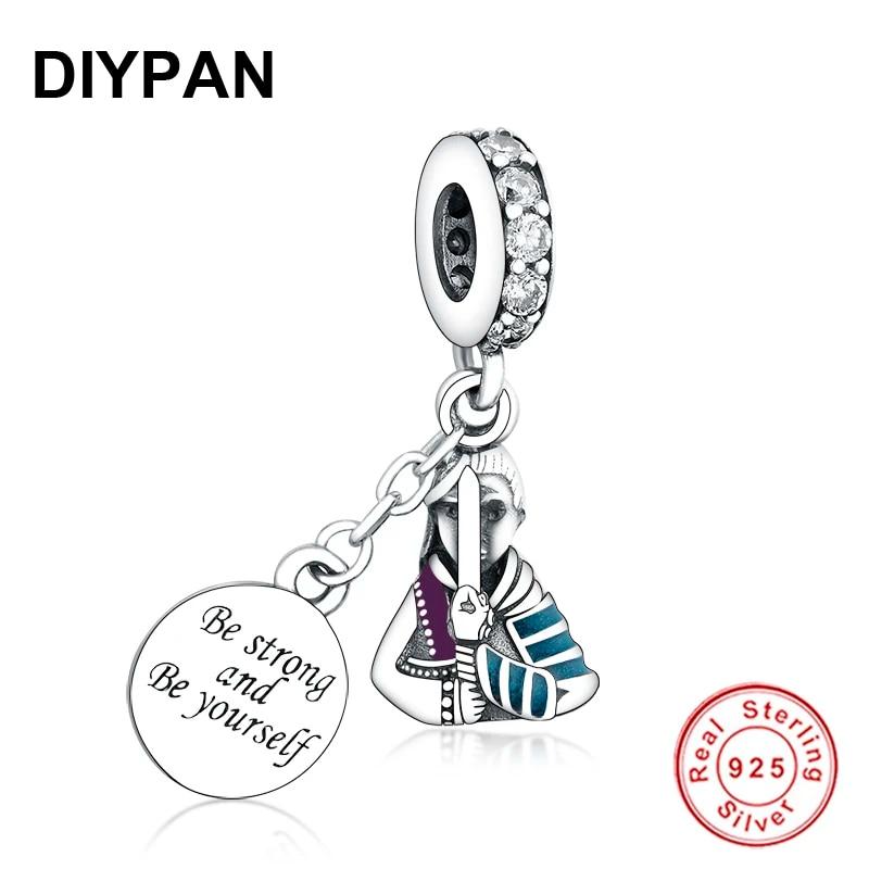 Fit Original Pandora Charms Silver 925 Bracelet Pendant Silver Mulan Dangle Charm Women Fashion Jewelry Berloque Beads Aliexpress