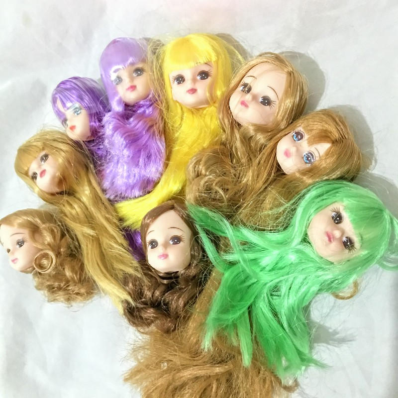 Pleastic Head Of Licca Doll No Body Onlt The Head Girl Toys For Kids