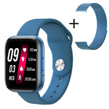 Smart Uhr T99 1,55 zoll Fitbit Touch HD Bildschirm Bluetooth Call Nachricht Push-Armband Sport Armband Fitness für Android IOS