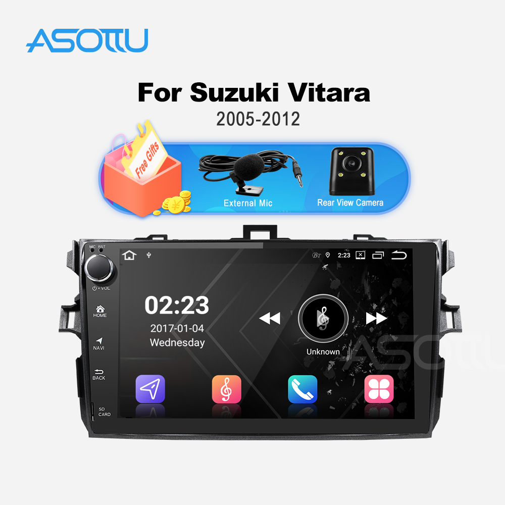 Asottu TO606 android 9.0 PX6 car dvd gps for <font><b>Toyota</b></font> <font><b>corolla</b></font> <font><b>E140</b></font> <font><b>E150</b></font> 2007 2008 2009 2010 2011 2012 car dvd radio gps stereo image