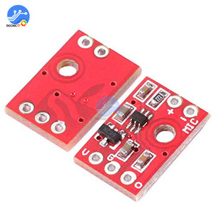 Image 4 - MAX9812L Microphone Amplifier Board 3.3V 6V Voice Audio Preamplifier Driver Mode AMP Board for Arduino DIY Kit