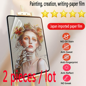 Paper Like Screen Protector Film Matte PET Painting Write For Apple iPad 9.7 Air 4 3 2 10.5 10.9 2020 Pro 11 10.2 7th 8th Gen 1