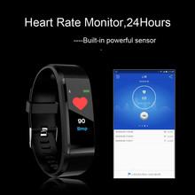 2021 inteligentne zegarki mężczyźni kobiety tętno Monitor ciśnienia krwi Fitness sportowy bransoletka Smartwatch tanie tanio BRDRC CN (pochodzenie) Brak Na nadgarstek Zgodna ze wszystkimi 128 MB Krokomierz Rejestrator aktywności fizycznej Rejestrator snu