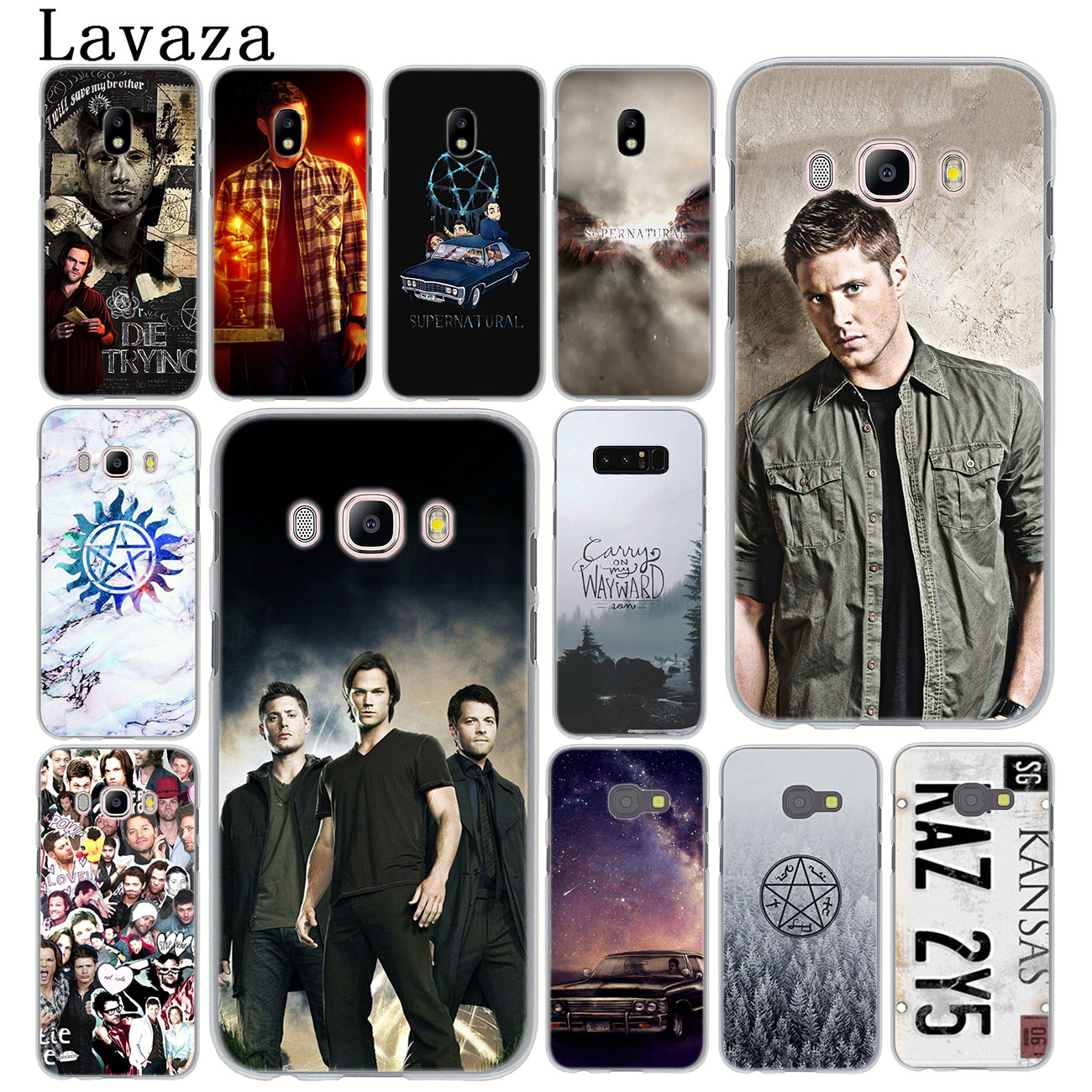 Lavaza Supernatural Jared Padalecki Phone Case for Samsung Galaxy J8 J7 Duo J4 J5 J6 Plus 2018 2017 2016 J2 J3 Prime 2015 Cover image