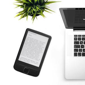 Image 5 - Dispositivo eletrônico da leitura do livro do papel de ereader do armazenamento 4.3x800 com luz dianteira capa do plutônio do leitor 4g/8g/16g de ebook de 600 polegadas