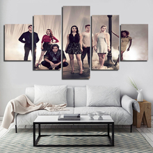 TV Play Canvas Painting Wall Art HD Prints 5 Pieces Riverdale Home Decoration Scenery Modular Picture Living Room Artwork Poster