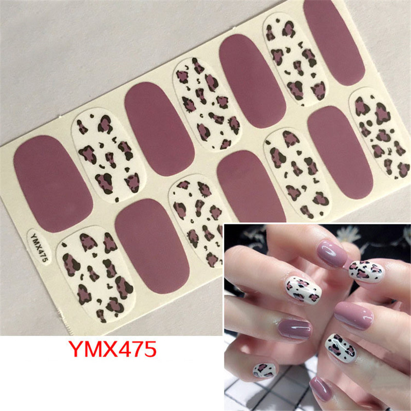 1Sheet 3D Leopard <font><b>Nail</b></font> Art <font><b>Sticker</b></font> <font><b>Sexy</b></font> Designs Women Adhesive <font><b>Nail</b></font> Decals Beauty Full Wraps Manicure Decoration DIY Accessories image