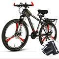 Горный велосипед 26 дюймов с переменной скоростью амортизация двойной дисковый тормоз студенческий взрослый Внедорожный гоночный