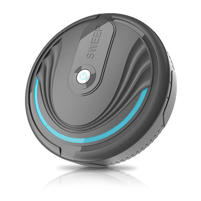 HOT Full Automatic Mini Vacuuming Robot Vacuum Cleaner Simultaneously For Hard Floors Carpet Run Charging Sweeper