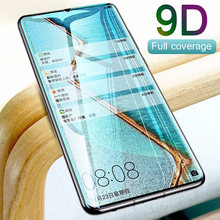 1 pcs para huawei y9 2019 y7 melhor 9d vidrio protetor para huawei y6 primeiro protetor de pantalla para