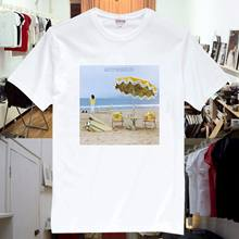 On The Beach Rock Music Band T Shirt Unisex New Funny O Neck T Shirt Round Neck Men Top(China)