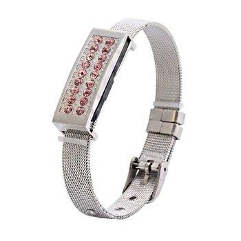 Hot Selling Luxury Jewelry Bracelet USB 2.0 8GB 16GB 32GB 64GB Pendrive 1TB USB Flash Drive 2TB Gift Memoria Usb Stick Key 256GB