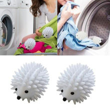Magic Hedgehog Laundry Washing Ball Reusable Dryer Ball Anti-Static Clothes Softener Household Washing Machine Cleaning Balls