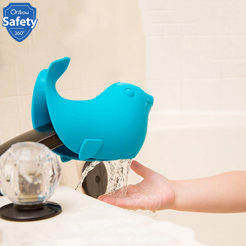 Faucet Cover Bathing Bathtub Bathroom Baby Nursing Care Safety Protector Silicone Soft Tap Guard Edge Baby Bath Spout Cover