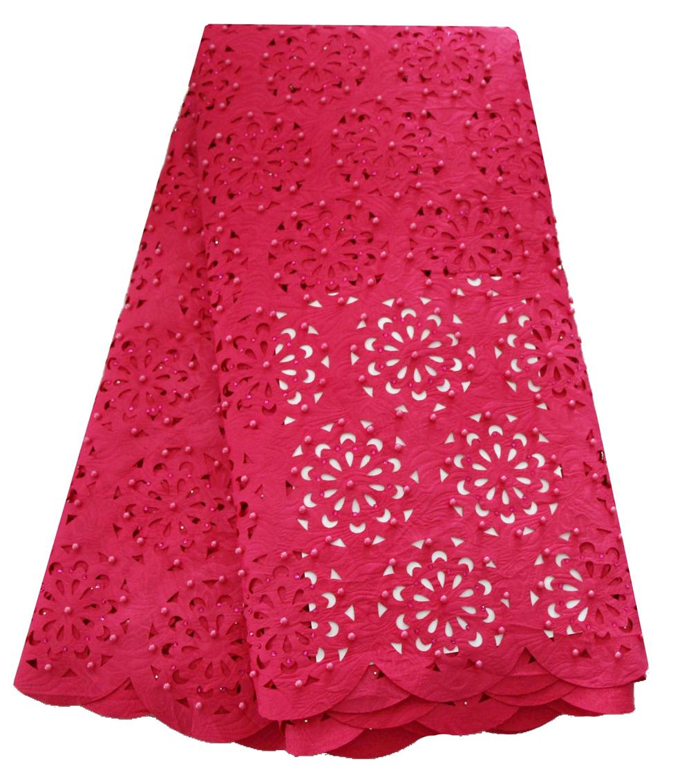 French Embroidered Laser Cut Lace Fabric African Lace Fabric 2019 High Quality Lace Nigeria Latest Wedding Dress Lace Fabric