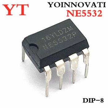 100 шт. NE5532 5532 операционный усилитель IC opamp GP 10 МГц DIP8