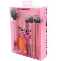 NEW Make up Brushs 1-3-4-5-6-7pcs Maquillage Real Technique Makeup Brushs Powder Loose Box Belt foundation brush 1786