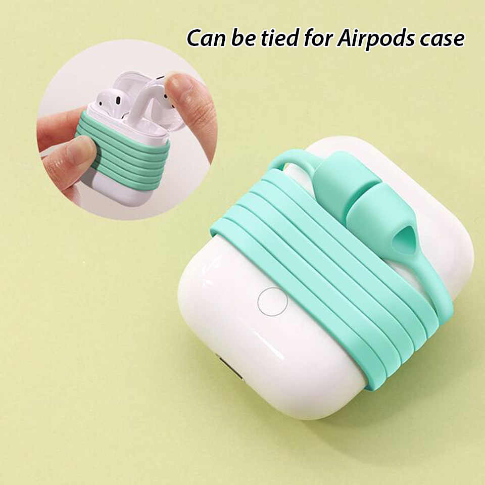 Untuk Apple Udara Pods PRO Aksesoris Anti Hilang Tali Earphone Earhook Silikon Tali Leher Tali Magnetik untuk Airpods Pro Anti hilang