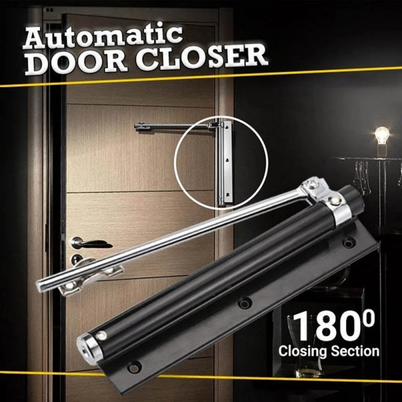 Automatic Operated Door Closer Adjustable Automatic Door Closer For Residential And Commercial Use Standard Door Closer