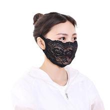Mascarilla adulto mulher máscara de rosto máscara de boca capa lavável reutilizável moda floral impressão laço boca máscara mondkapjes # h18
