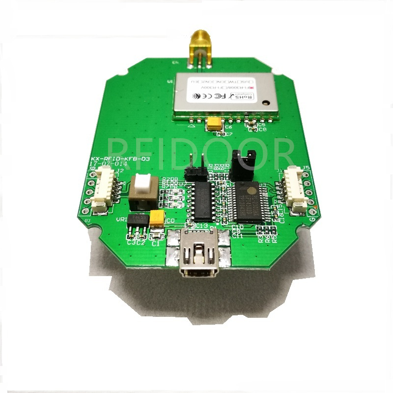 UHF RFID RFID Proximity Reader Module Supports USB/232/UART Development Board Test Board