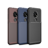 style protective For Nokia 7.2 Case Business Style Silicone Rubber Shell Coque TPU Back Phone Cover For Nokia 7.2 Protective Case For Nokia 7.2 (1)