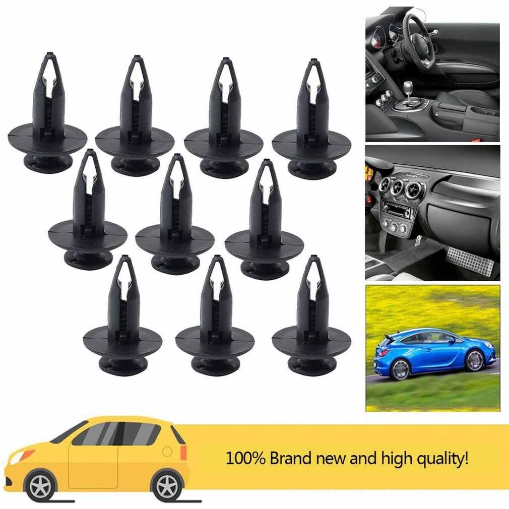 ¡Oferta! ¡Nuevo! 10 Uds. De hebilla de plástico para retenedores de Panel embellecedor de puerta de coche para Ford Focus/Expedition/Fiesta 1996-2002